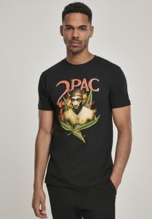 Tričko Tupac Fireleaf Tee, Muž, Čierna,