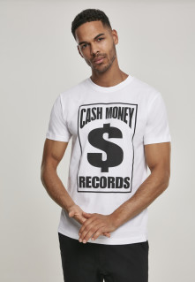 Tričko Cash Money Records Tee, Muž, Biela,