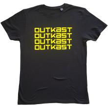 Tričko Logo Repeat, Unisex, Čierna,