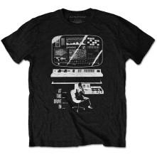 Tričko Monitor, Unisex, Čierna, L