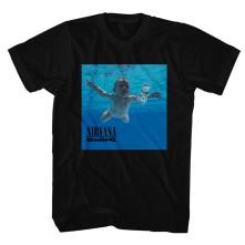 Tričko Nevermind Album, Unisex, Čierna,