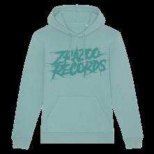 Mikina Zrazoo Records, Unisex, Teal,