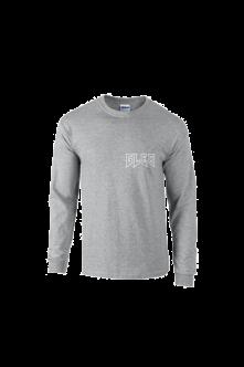 Tričko s dlhým rukávom GAUČ STORYTELLING, grey, longsleeve, Muž, Šedá, L