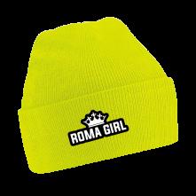 Čapica Roma Girl, Unisex, Neónová žltá, Univerzálna
