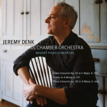 CD DENK, JEREMY & THE SAINT PAUL CHAMBER ORCHESTRA - MOZART PIANO CONCERTOS