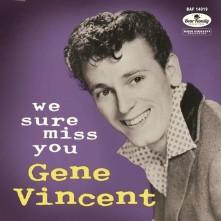 Vinyl VINCENT, GENE - WE SURE MISS YOU