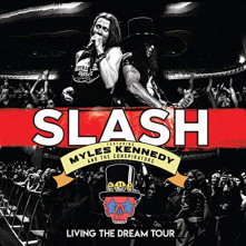 Blu-ray SLAH/MYLES KENNEDY AND.. - LIVING THE DREAM TOUR/2CD