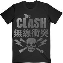Tričko Skull & Crossbones, Unisex, Čierna,