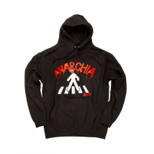Mikina Anarchia, Unisex, Black, L