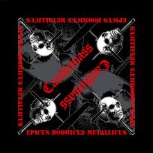 Šatka Epicus Doomicus Metallicus, Unisex, Čierna, Univerzálna