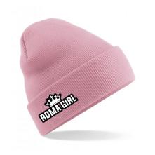 Čapica Roma Girl, Unisex, Dusky pink, Univerzálna