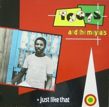 Vinyl TOOTS & THE MAYTALS - JUST LIKE THAT