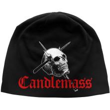 Čapica Skull & Logo, Muž, Čierna, Univerzálna