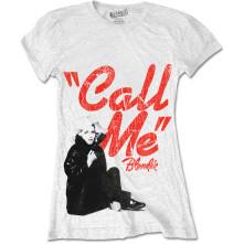 Tričko Call Me, Žena, Biela,