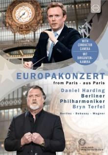 Blu-ray TERFEL, BRYN / BERLINER PHILHARMONIKER / HARDING, DANIEL - EUROPAKONZERT 2019 - FROM PARIS - WAGNER, BERLIOZ, DEBUSSY