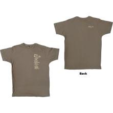 Tričko Set List, Unisex, Hnedá, M