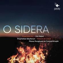 CD ENSEMBLE IRINI / HAJOSI - LASSUS - O SIDERA: PROPHETIAE SIBYLLARUM