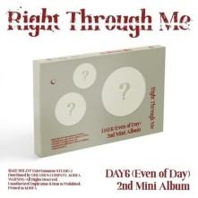 CD DAY6 (EVEN OF DAY) - RIGHT THROUGH ME