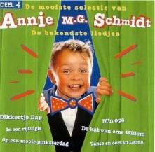 CD ANNIE M. G. SCHMIDT - DE BEKENDSTE LIEDJES