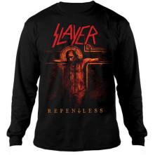 Crewneck Repentless Crucifix, Unisex, Čierna,