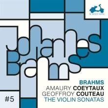 CD COEYTAUX, AMAURY/GEOFFROY - BRAHMS: THE 3 VIOLIN SONATAS