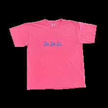 Tričko La La La, Unisex, Crunchberry,