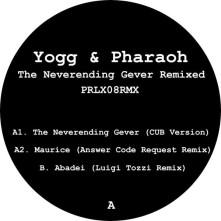 Vinyl YOGG & PHARAOH - NEVERENDING GEVER REMIXED