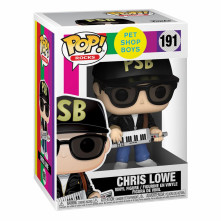 Figúrka Pet Shop Boys POP! Rocks Vinyl Figure Chris Lowe