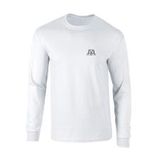 Tričko s dlhým rukávom MR 2020, Muž, Biela,