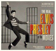 CD THE REAL... ELVIS PRESLEY AT THE MOVIES