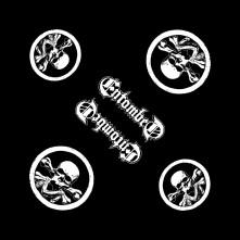Šatka Skull Logo, Unisex, Čierna, Univerzálna