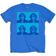 Tričko Glasses 4 Up, Unisex, Modrá,