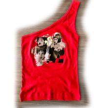 Tielko Shoulder, Žena, Červená,