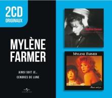 CD MYLÈNE FARMER - AINSI SOIT JE / CENDRES DE LUNE