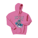 Muž - Mikina Heart hoodie (Candy ružová)