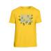 Muž - Tričko Leafy (Žltá)