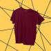 Unisex - Tričko OMG (Bordová)