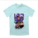Unisex - Tričko Legendary Crew (Baby modrá)