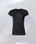 Žena - Tričko 3D Lion (Čierna)
