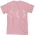 Unisex - Tričko OGlowing-T (Baby Pink)